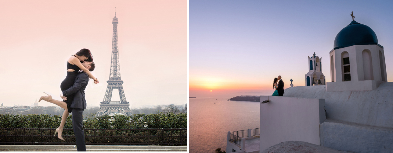 pre-wedding photography in europe